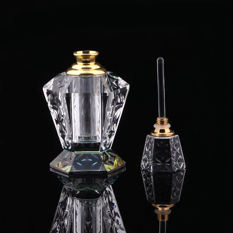 Customized 5ml 30ml100ml Multiple Colors Luxury K9 Crystal Perfume Empty Glass Bottles100ml With Different Bases