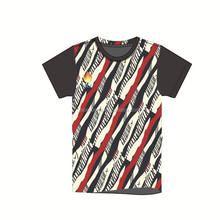 Customized Wholesale unisex sublimation fitted plain round neck men t-shirt