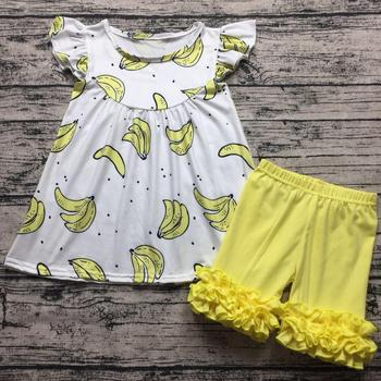 88c81689472c Wholesale Baby Girl Boutique Clothing Sets Summer Frock Design ...