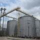 1000t malt coffee vertical storage galvanized steel silo