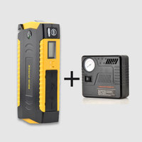 69800mAh New 2017 inventions slim portable jump starter for vehicles car battery power bank jump starter with air compressor
