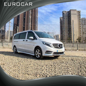 Perfect fitment facelift for mercedes V class Vito W447 body kit in PP with front bumper rear bumper and side skirt UP style