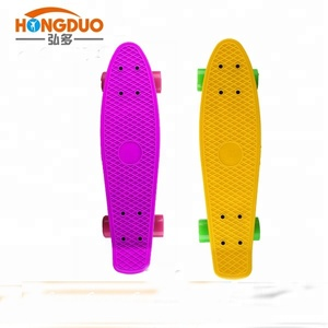 new design 22 inch fish skateboard, used plastic skateboards for sale
