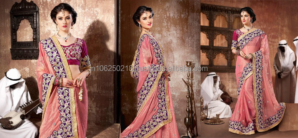 Designer party wear casual saree indian ethnic wear womans daily wear ...R4599