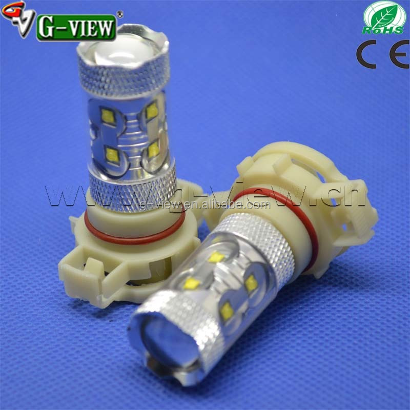 H16 car Led bulb 50 w creeled Hotsale superbright 10-30 v 5202 Led car light