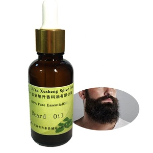 Organic Private Label Beard Oil Set for Nourishes Smooth