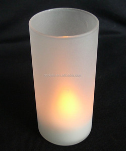 battery powered tea lights led flameless candles led candle holder