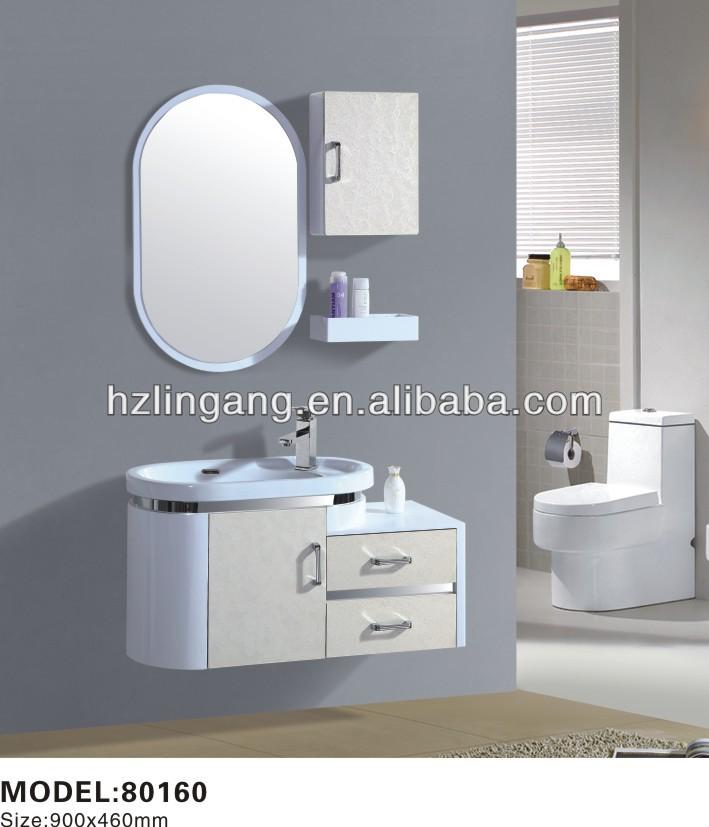 90 cm pvc haning económico moderno mueble de baño ...