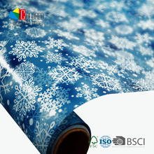 Snow Design Gift Paper Rolls Christmas Wrapping Paper Factory