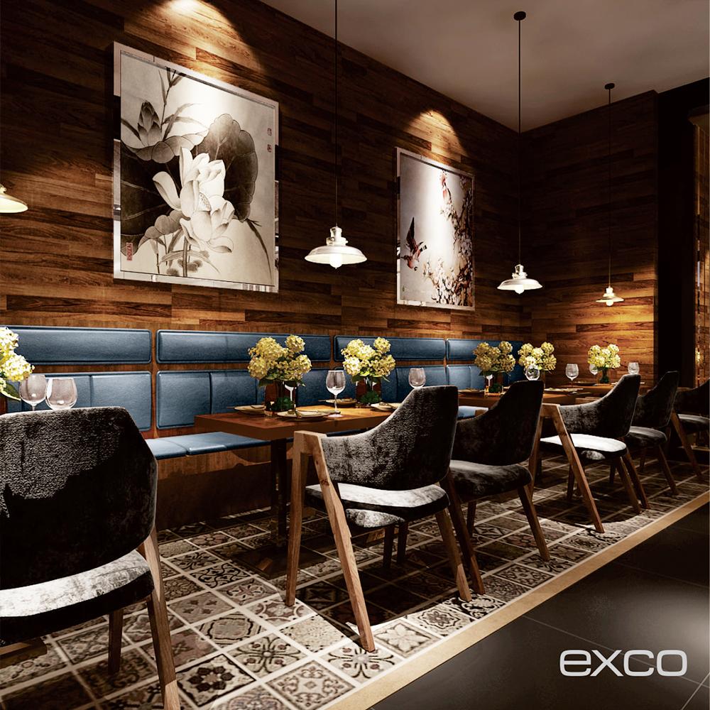Exco Restaurant Design Cuisine Complete Accessories Modern By