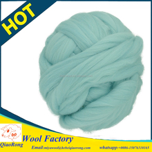 100% Merino Wool bulky yarn hand knitted chunky wool yarn