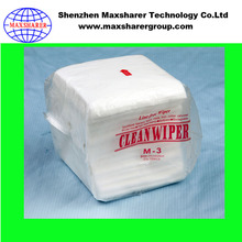 Industry M-3 Cleaning Cloth SMT Cleanroom Rubber Door Polyester Wiper