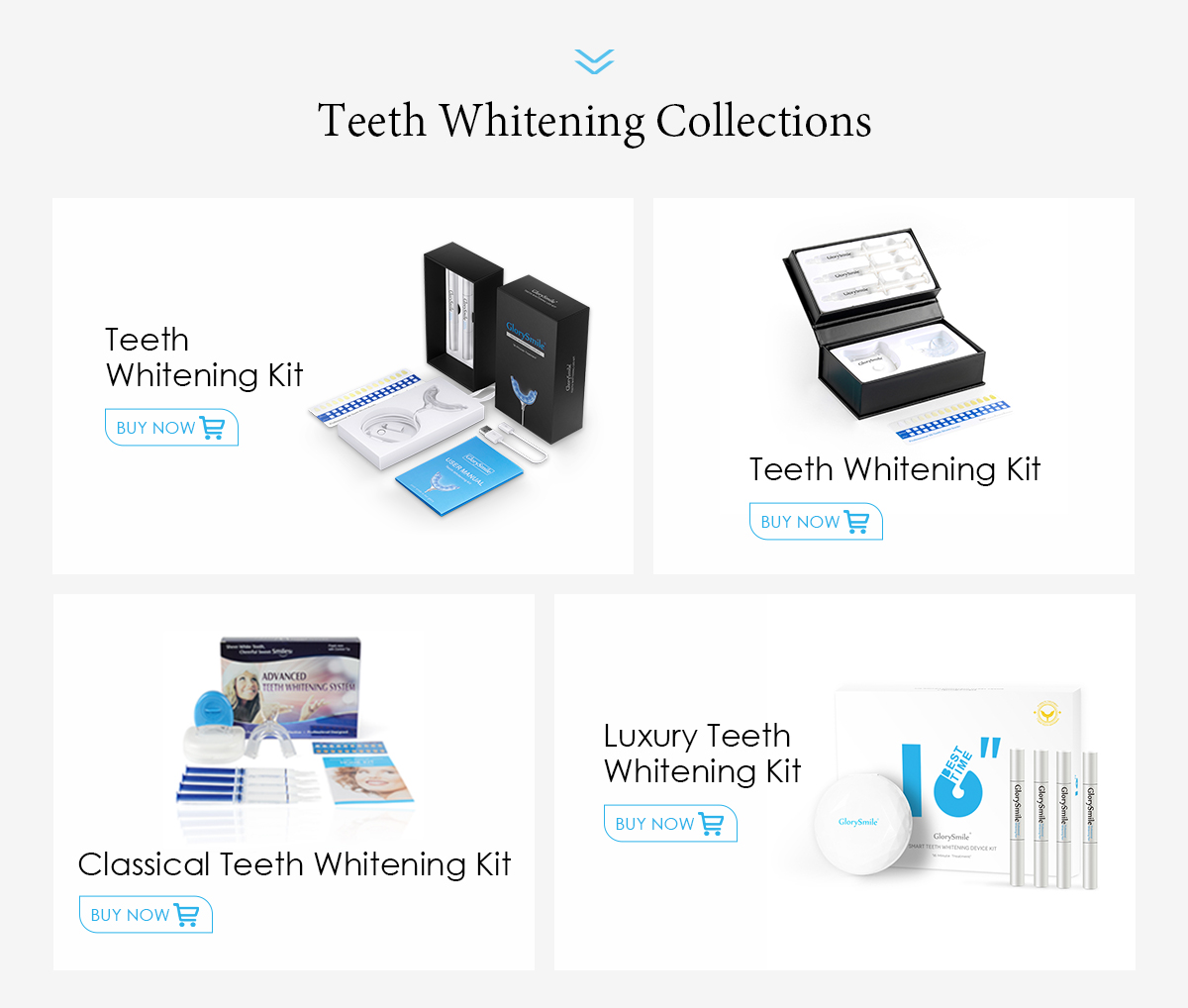 Private Logo Professional Bright White Smiles Non Peroxide Wireless Led Home Teeth Whitening Kit For Tooth Whitening