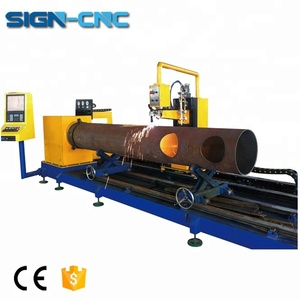 SIGN-609 Plasma cutting machine cnc Metal pipe cutting machine