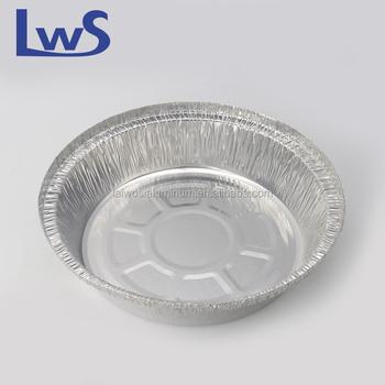Food baking disposable aluminum foil pizza pan/pie pan/baking tray & Food Baking Disposable Aluminum Foil Pizza Pan/pie Pan/baking Tray ...