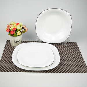 luxury factory provide white dinner ware set buffet tableware