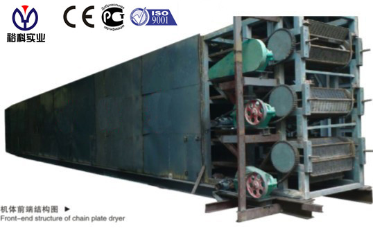 Charcoal Briquettes/ Coal Briquettes Conveyor Belt Dryer Popular in South Africa