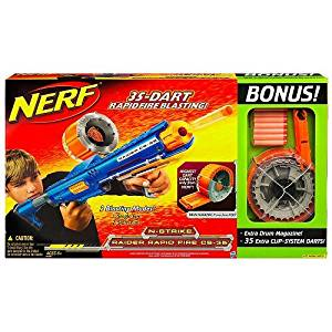 Nerf N-Strike Raider Rapid Fire CS-35 Blaster Bonus Pack