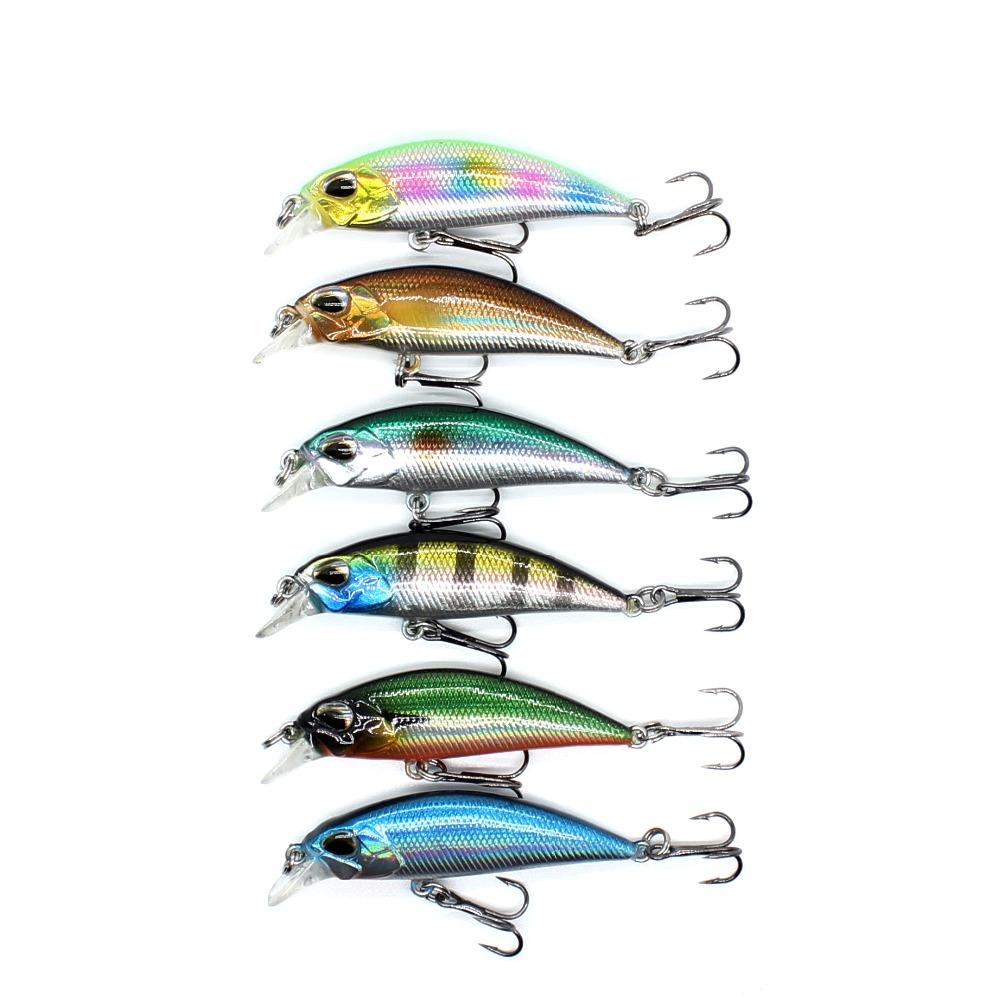 Wholesale CH045 wobblers Jerkbait 4.5cm 4.0g Bass Small Minnow Crank Hard Bait Fishing lures
