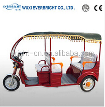 three wheel tricycles with electric motor,electric auto rickshaw