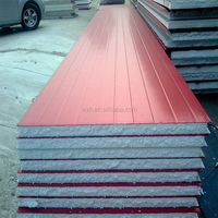 Fire proof Interior/Exterior Wall Panel decorative heat insulation metal board/Hot! Insulated sandwich panel manufacturer