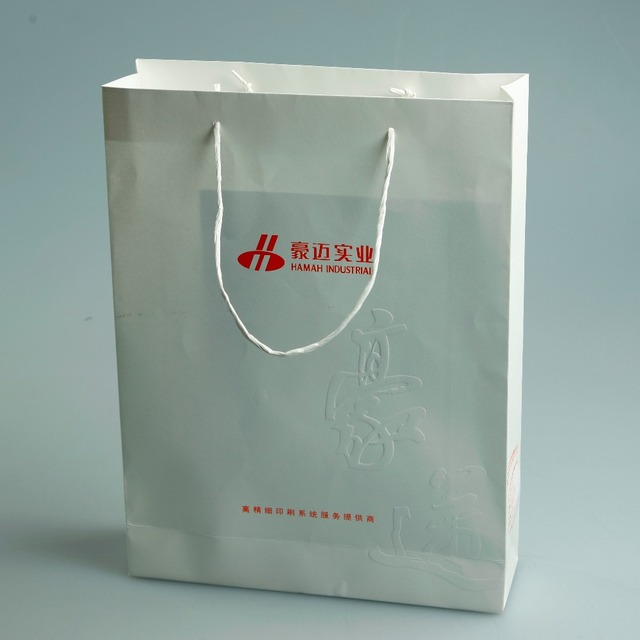 2017 China supplier wholesale shopping Paper Bag Printing Packaging Printing