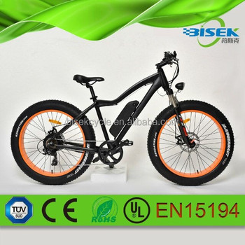 Hi-Speed Fat Tire Folding Electric Mountain Bike For Women E-Bike 750W 250W Brushless