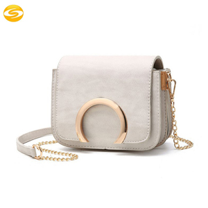 Womens Leather Clutch Purse Handbag metal chain Shoulder Bag pu Leather evening bag