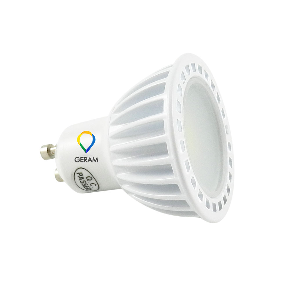 led gu10 gu5.3 220v 110v mr16 12v dimmable led spotlight lamp