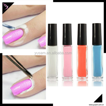Free Samples Manufactures Oem Nail Polish Tape Latex