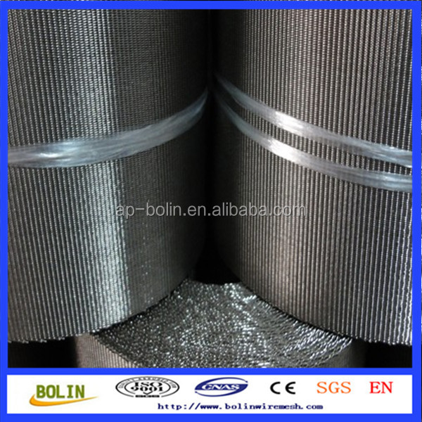SS 304 316 metal wire Mesh openings 0.2 mm up to 3 mm TWILLED-WEAVE METAL MESH belts(15 years professional factory)