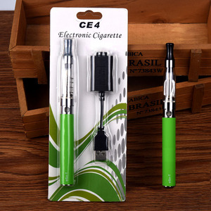 2018 wholesale electronic cigarette ego-t e-cigarette starter kit ego ce4 set