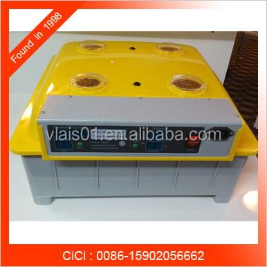 Top quality cheap price chicken egg incubator / V-48 small egg hatch machine