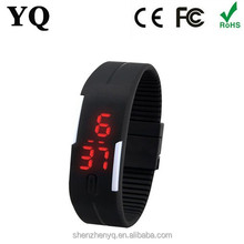 Waterproof Silicone Band Brand Men Digital Watch Fashion LED Sport Military Army Watch