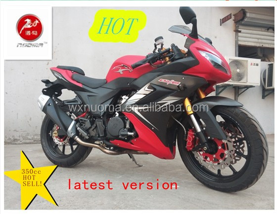 Horizon 150cc / 250cc / 350cc EEC motorcycle , chinese racing motorcycle double cylinder powerful engine
