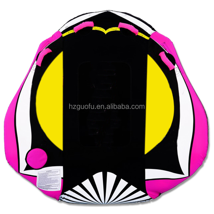 Factory Price 2 Rider Inflatable Towable Ski Water Tube for Water Sports