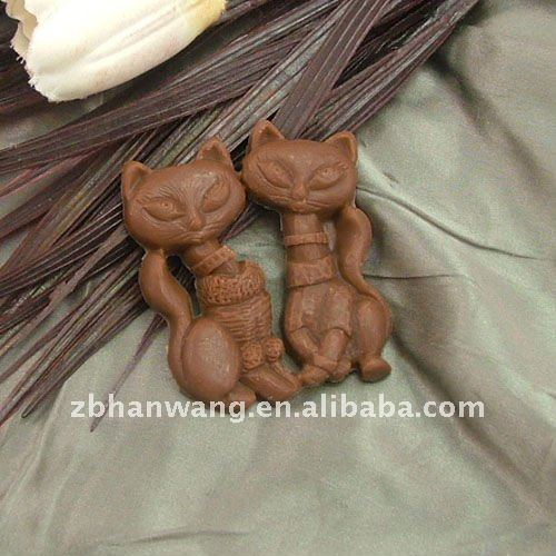 C0035 beautiful silicone 3D chocolate molds