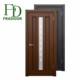Laminated Moulded High Gross Melamine MDF Skin Office Glass Door