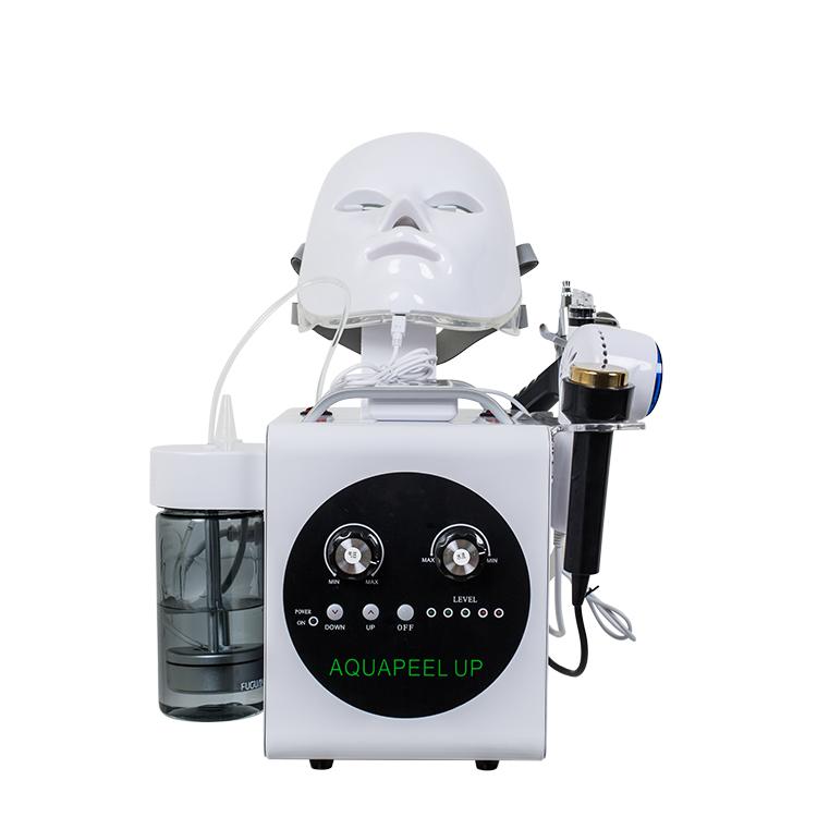皮顔酸素注入ウェット/ドライマイクロダーマブレーション機