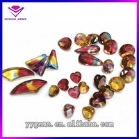 Multicolor Any Shape Cubic Zirconia Stone CZ for Fashion Jewelry Stock