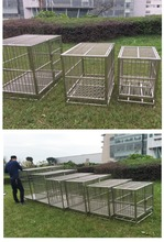 Strong Stainless Steel Dog Cage Five Sizes