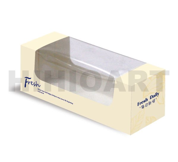 Mini Strip Cake Box-Fresh Daily (Medium)