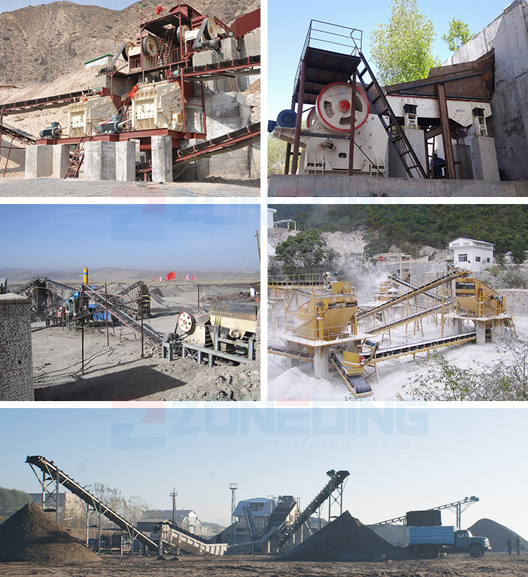 High efficiency mobile jaw crusher station lime mobile mining processing equipment