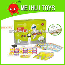 Funny learning educational toys / English touch talk pen with 10PCS books & game card,education English talking pen