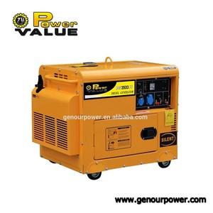 Diesel generator set 3kw, 3kv cheap diesel generator made in China