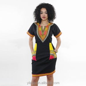 918819a95d34 Short Traditional African Dashiki Print Dress, Short Traditional African  Dashiki Print Dress Suppliers and Manufacturers at Alibaba.com