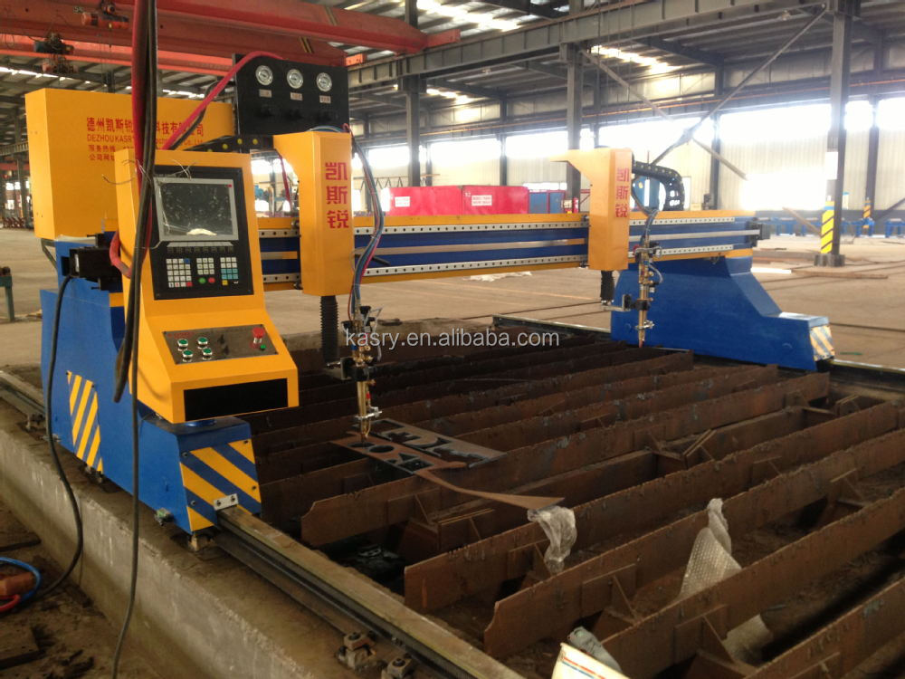 China famous brand CNC machine cut steel plate // plasma cutting machine for sale
