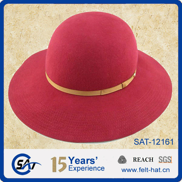 100% Pure Wool Felt Floppy Hat Wholesale 7dffc6158012
