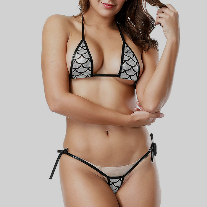 Custom Factory Wholesale China Beautiful Sexy Girl Bikini Transparent Women Mini Micro Swimwear For Women