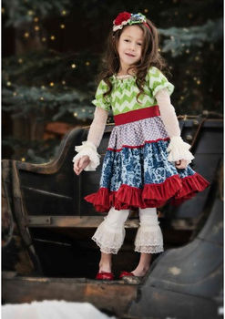 Boutique Newborn Baby Christmas Outfits Little Girls
